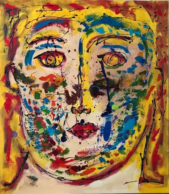Ana Tatya Neri, 'Brandon', Painting, Acrylic on Canvas, Galleria Dante