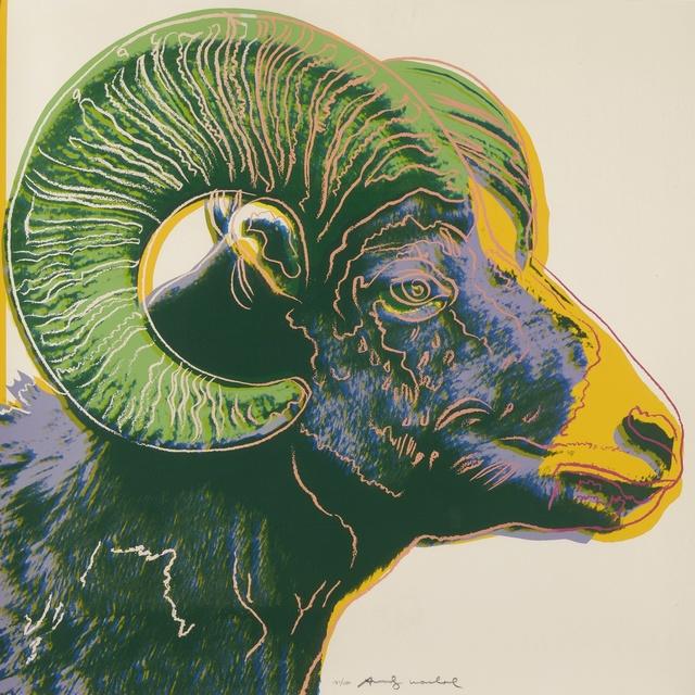 Andy Warhol, 'Bighorn Ram (F. & S. II.302)', 1983, Sotheby's