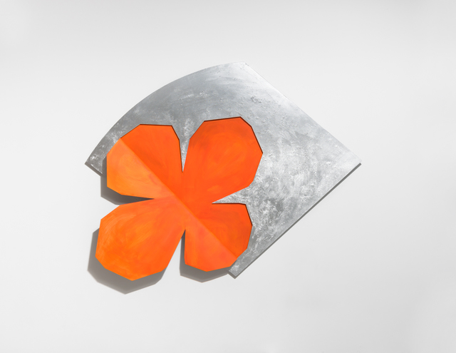 , 'Hidden clover (orange),' 2017, PKM Gallery