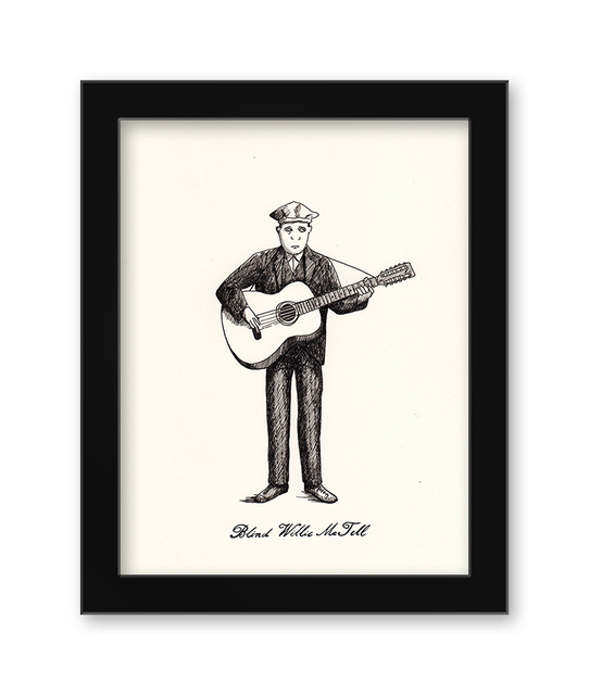 , 'Blind Willie McTell,' 2017, Spoke Art