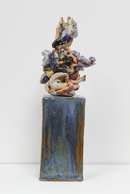, 'Thoughts #4 Elephant on a Blue Base,' 2017, Jane Hartsook Gallery