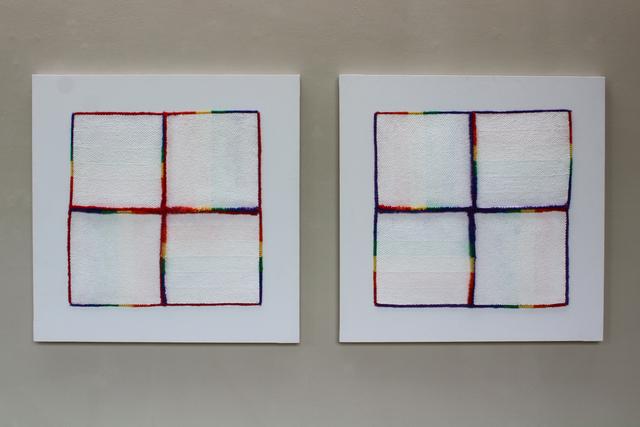 , 'Colour Clues + Purple,  Colour Clues + Red,' 1986-1993, New Art Centre