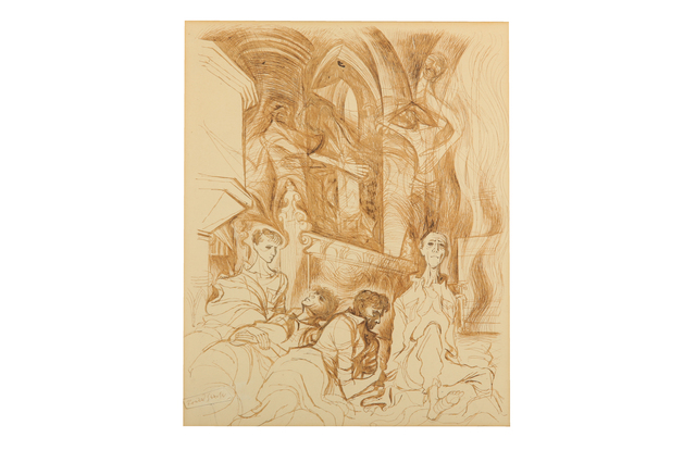 Ronald Searle, 'Sleep of prisoners', Chiswick Auctions