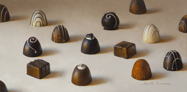 , '15 Chocolates,' 2015, Jenkins Johnson Gallery