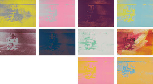 Andy Warhol, 'Electric Chairs', 1971, Phillips