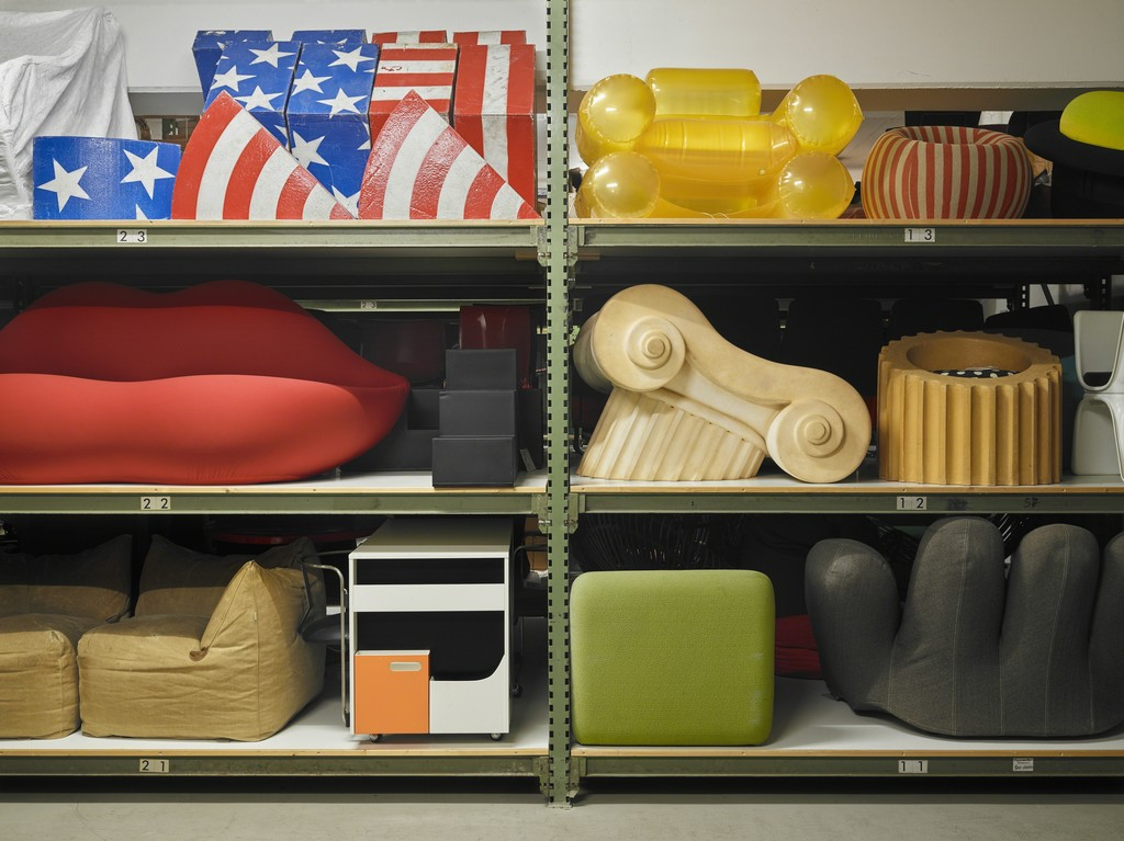 View into existing collection, not accessible for public,