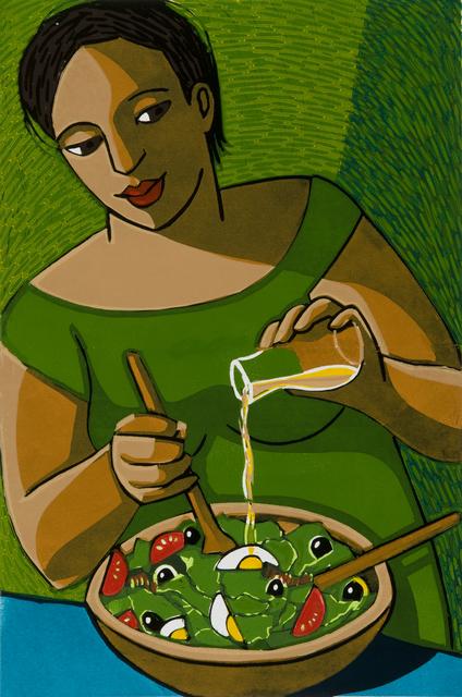 , 'The Salad,' 2016, Eames Fine Art