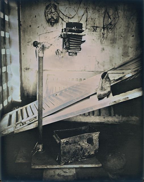 , 'Photo Enlarger at Tuol Sleng Genocide Museum,' 2017, Lisa Sette Gallery