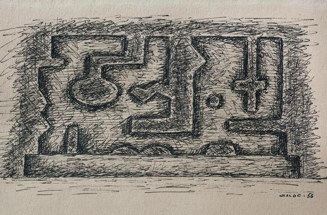, 'Formas,' 1956, Galería de las Misiones