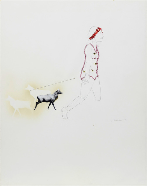 , 'Untitled (Figure with Animal),' 1972, Anglim Gilbert Gallery