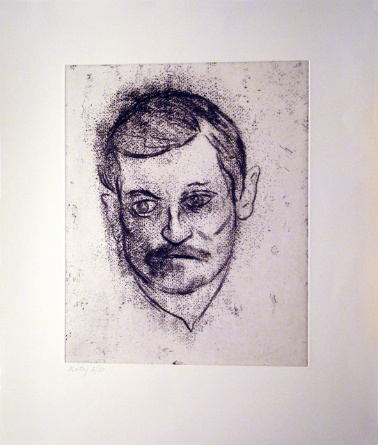 , 'John Ashbery,' 1997, Marlborough Gallery