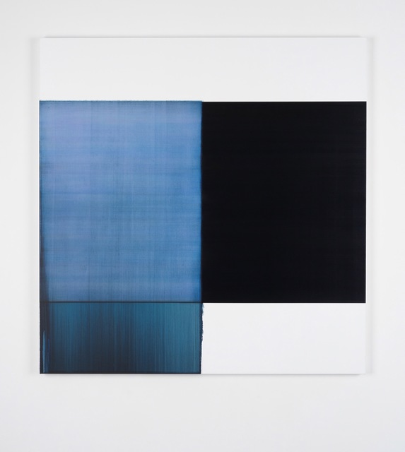 , 'Exposed Painting Oriental Blue,' 2017, Sean Kelly Gallery