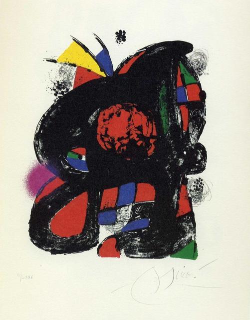 , 'Miró Litògraf IV,' 1982, Galeria Joan Gaspar
