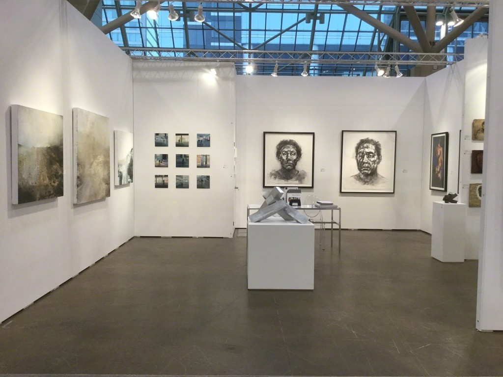 Toronto Art Fair Booth