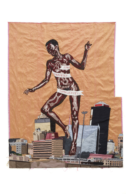 Billie Zangewa, 'The Rebirth of the Black Venus', 2010, Textile Arts, Silk tapestry, WIELS