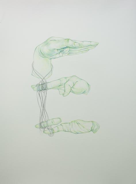 , 'HDWTTTD (E),' 2011, Galerie D'Este