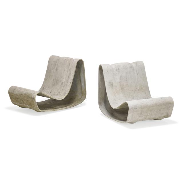 Willy Guhl, 'Pair of lounge chairs, Switzerland', Rago/Wright