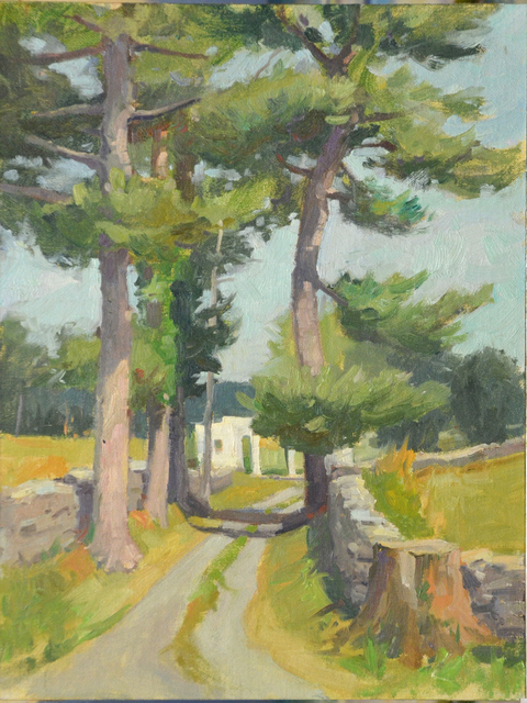 , 'Entrance to the Tuleyries,' 2012, Susan Calloway Fine Arts