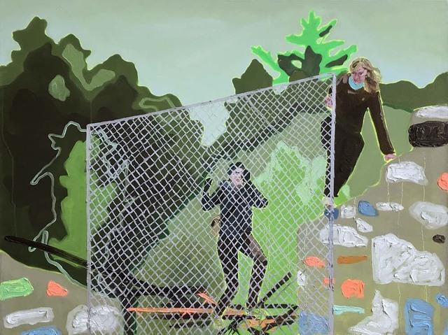 , 'On the Fence,' 2017, Bau-Xi Gallery