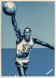 Jordan UNC, from Michael Jordan Hall of Fame Tribute Series