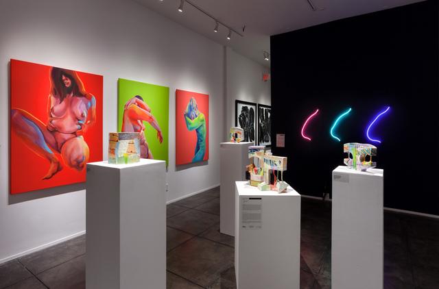 Lauren Mabry, 'Glazescape (20.02)', 2020, Sculpture, Earthenware, glaze, slip, Jonathan Ferrara Gallery