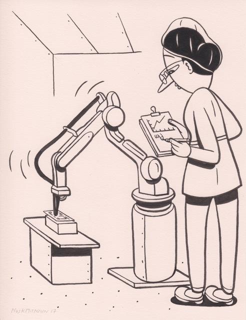 HuskMitNavn, 'Robot Arm', 2017, V1 Gallery