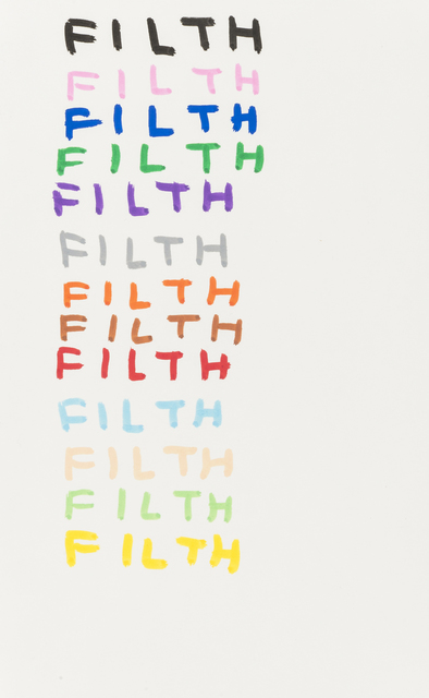 David Shrigley, 'Filth', 2007, RAW Editions