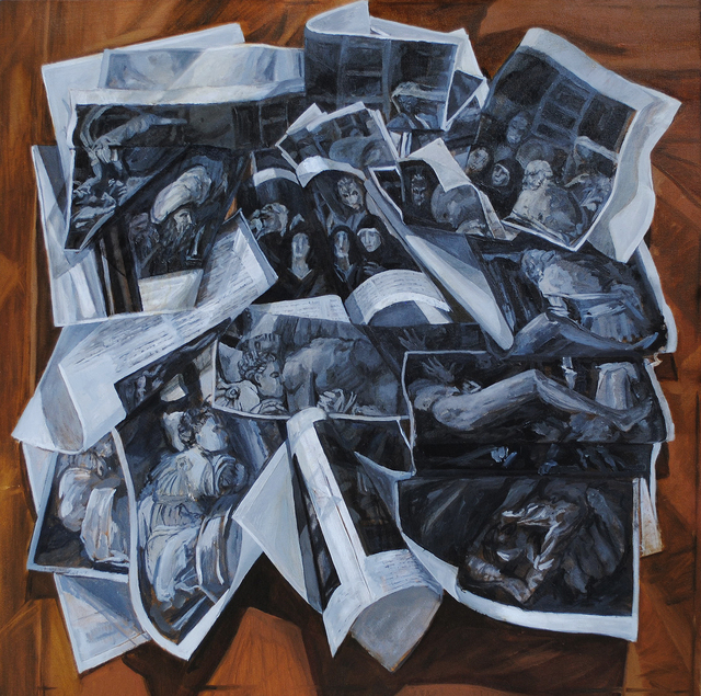 , 'The Deposition ,' ca. 2015, Linda Matney Gallery