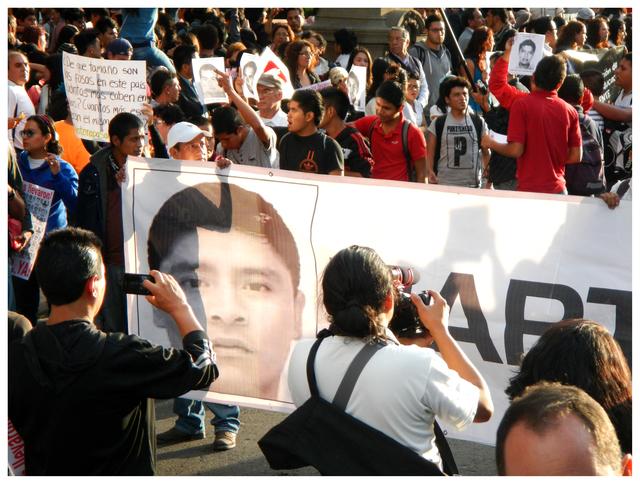 , 'Ayotzinapa Vive! Mexico City, 2014.,' 2015, Roberto Alban Galeria de Arte