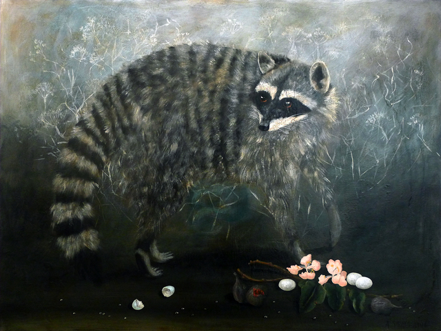 , 'Raccoon,' , Gail Severn Gallery