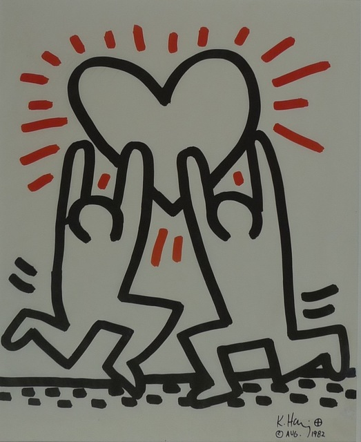 Keith Haring, 'Untitled', 1982, Bengtsson Fine Art