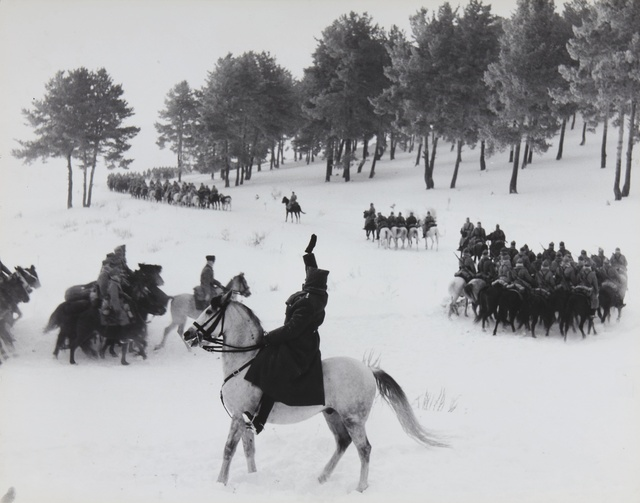 David Douglas Duncan, 'Turkish Cavalry Maneuvers', 1948, Sotheby's