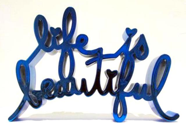 , 'Life Is Beautiful - Hard Candy (Blue),' 2017, Aurifer AG