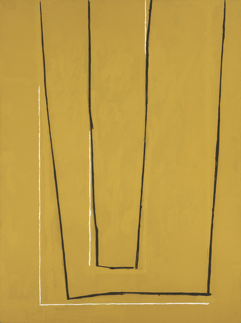 , 'Open in Ochre,' 1967-1970, Museum of Fine Arts, Boston