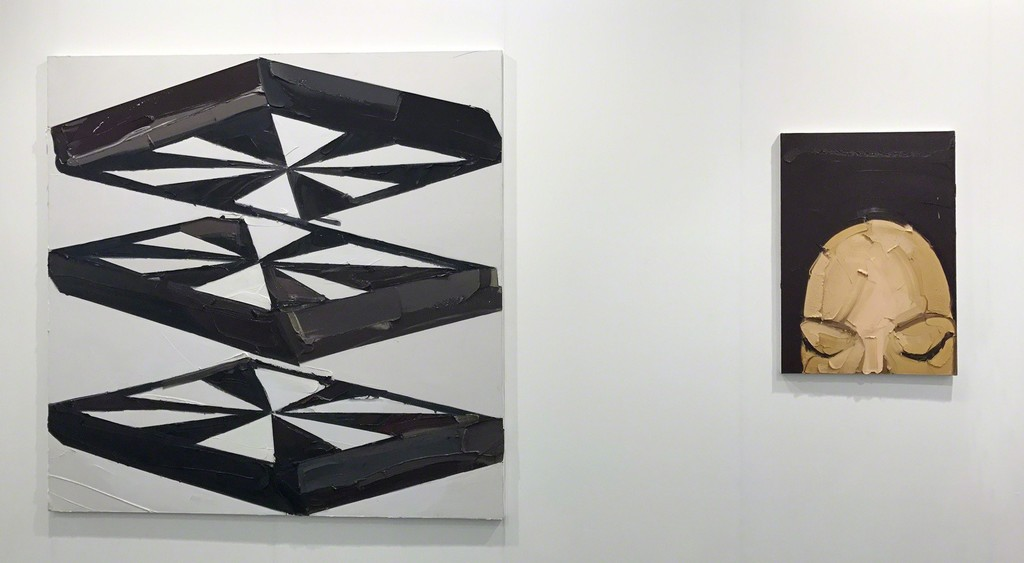 Martin Wehmer |  Fanghe | Oil on canvas | 200 x 200 cm (Left)