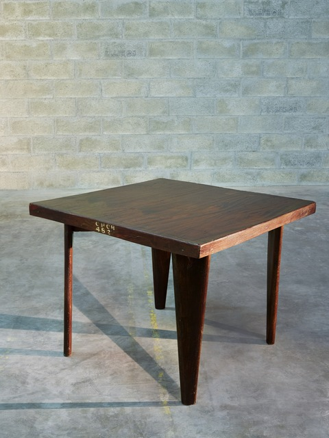 , 'Square table,' ca. 1955, Galerie Downtown - François Laffanour