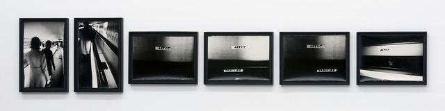 , 'Untitled (Trbuljak – Artist) II,' 1973, Galerija Gregor Podnar
