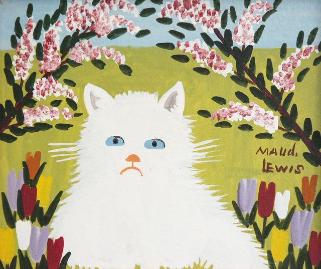 , 'White Cat,' 1964, Oeno Gallery