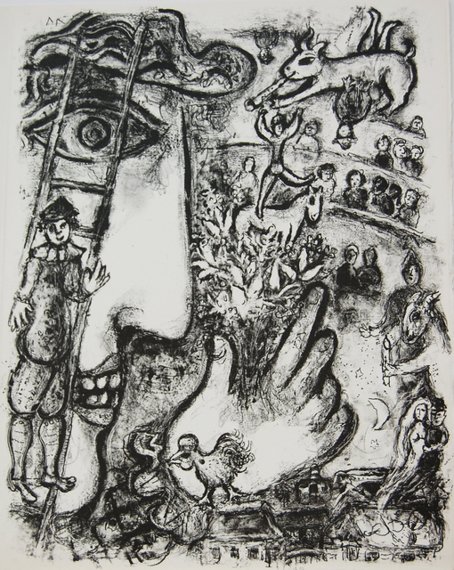 Marc Chagall, 'Le Cirque', 1967, Baterbys