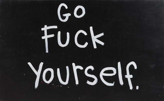 Annie Preece, 'Go Fuck Yourself', 2013, Julien's Auctions