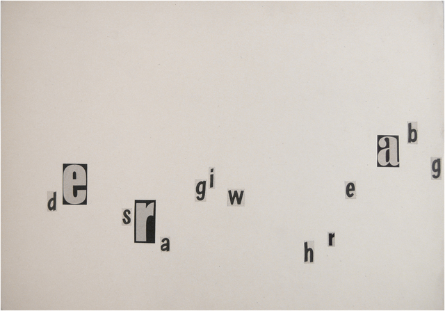 , 'Untitled (de sra),' 1956, Christine König Galerie