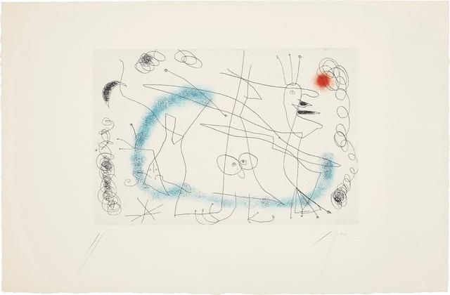 Joan Miró, 'Strip-Tease in Blue', 1959, Phillips