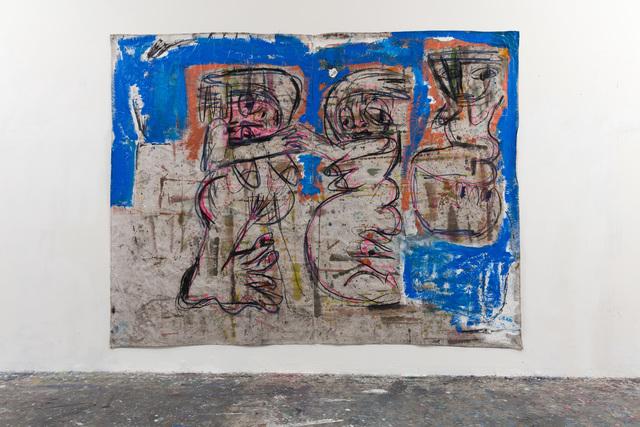 , 'Rituals (blue and copper),' 2016, Vigo Gallery