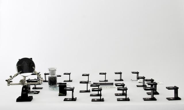 , 'Mano Izquierda, Elegia Microscopica,' 2015, Galería Tiro Al Blanco