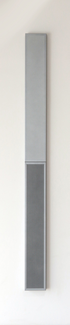 , 'White and black paintings in gray frames,' 2008, Quint Gallery