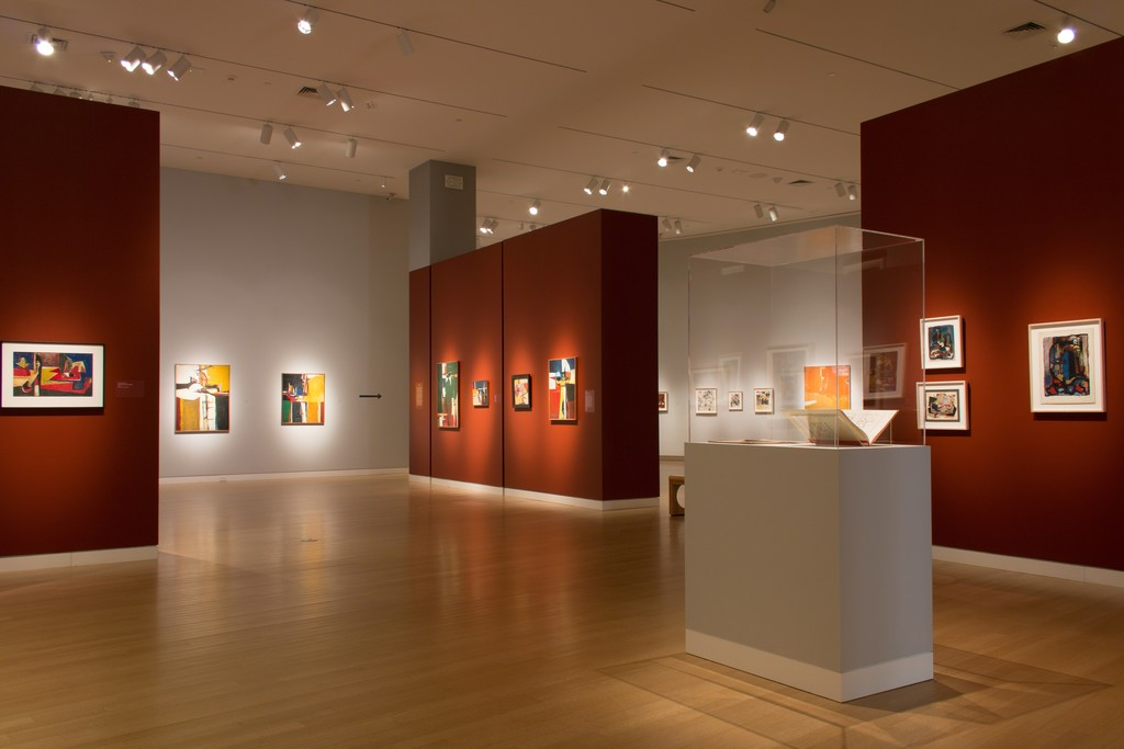 An installation view of the exhibition at the Crocker Art Museum, Sacramento, California, October 8, 2017 – January 7, 2018