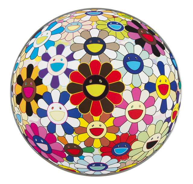 Takashi Murakami, 'Flower Ball (Lots of Colors)', 2013, Julien's Auctions