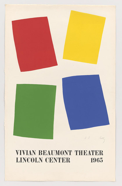 , 'Vivian Beaumont Theater, Lincoln Center,' 1965, Robert Fontaine Gallery