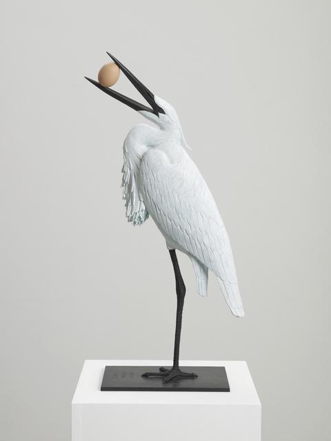 , 'Egg Eating Egret,' 2011, GRIMM