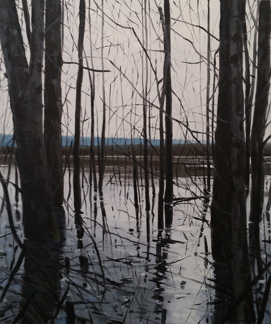 , 'Overflow Lake I,' 2017, Russo Lee Gallery